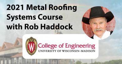 Metal Roofing Course